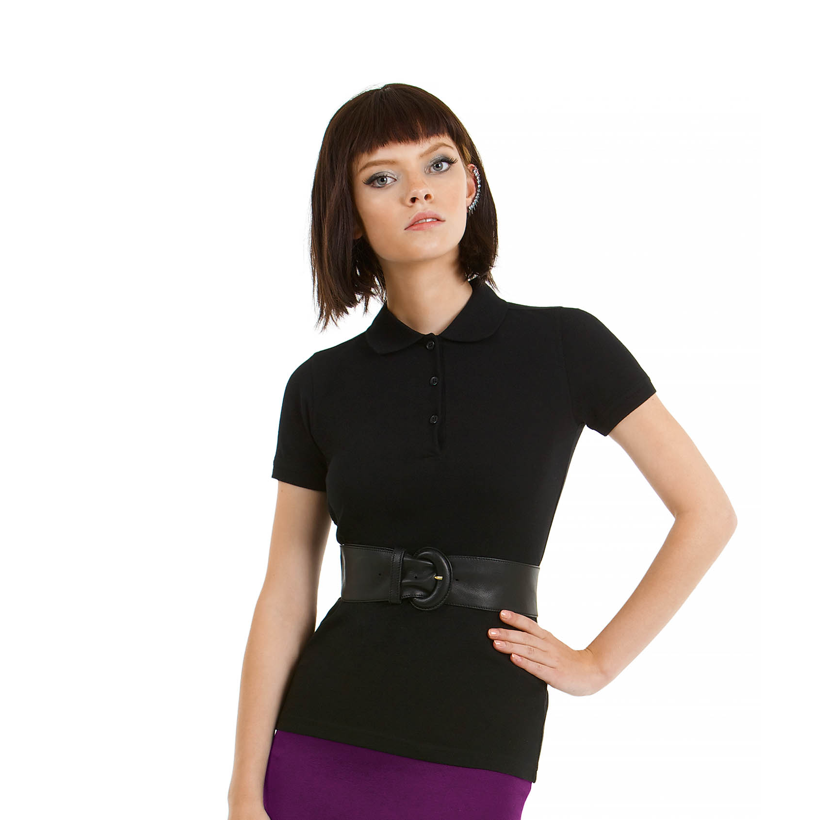 B&C SAFRAN TIMELESS /WOMEN polo krekls